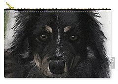 Carry-all Pouch featuring the painting My Favorite Bud by Sharon Duguay