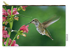 Carry-all Pouch featuring the photograph My Favorite Flowers by William Lee