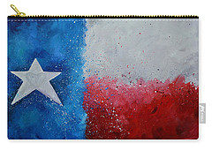 My Heart Belongs To Texas Carry-all Pouch by Patti Schermerhorn