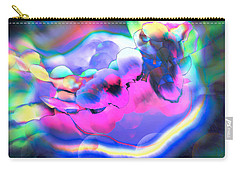 Carry-all Pouch featuring the photograph My Imagination Is In Color by Kellice Swaggerty