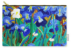 My Iris - Inspired  By Vangogh Carry-all Pouch