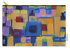 Carry-all Pouch featuring the painting My Jazz N Blues 1 by Holly Carmichael