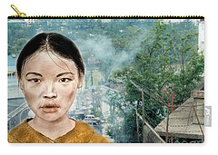 My Kuiama A Young Vietnamese Girl Version II Carry-all Pouch
