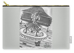 Carry-all Pouch featuring the drawing My Love by Laurie L