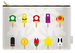 My Mario Ice Pop - Univers Carry-all Pouch by Chungkong Art