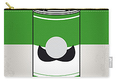 My Mario Warhols Minimal Can Poster-luigi Carry-all Pouch