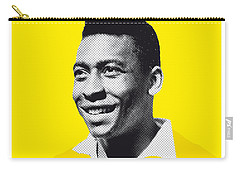 My Pele Soccer Legend Poster Carry-all Pouch by Chungkong Art