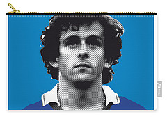My Platini Soccer Legend Poster Carry-all Pouch