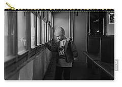 Carry-all Pouch featuring the photograph My Shadow by Jeremy Rhoades