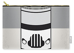 My Star Warhols Stormtrooper Minimal Can Poster Carry-all Pouch