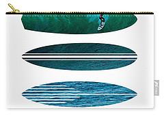 My Surfspots Poster-3-punta De Lobos-chile Carry-all Pouch