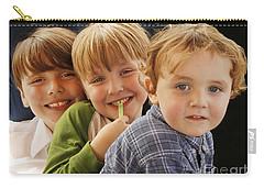 My Three Grandsons Carry-all Pouch by Luana K Perez