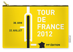 My Tour De France 2012 Minimal Poster Carry-all Pouch
