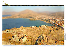 Carry-all Pouch featuring the photograph My Toy Castle by Vicki Spindler
