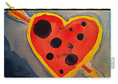 Carry-all Pouch featuring the painting Imperfect Love by Rand Swift