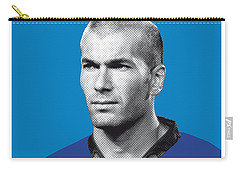 My Zidane Soccer Legend Poster Carry-all Pouch by Chungkong Art