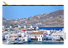 Mykonos Port Carry-all Pouch by Corinne Rhode