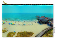 Carry-all Pouch featuring the photograph Myrtle Beach South Carolina by Alex Grichenko