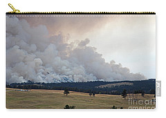 Myrtle Fire West Of Wind Cave National Park Carry-all Pouch by Bill Gabbert