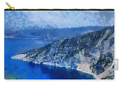 Myrtos Beach In Kefallonia Island Carry-all Pouch