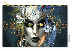 Mysteries Of The Mask 1 Carry-all Pouch