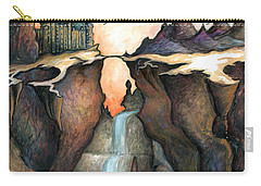 Mystery Canyon - Fantasy Art Painting Carry-all Pouch
