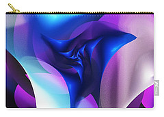 Carry-all Pouch featuring the digital art Mysterious  by David Lane