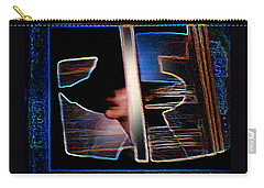 Carry-all Pouch featuring the painting Mysterious Lady by Hartmut Jager