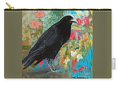 Carry-all Pouch featuring the painting Mystery At Every Turn by Robin Maria Pedrero