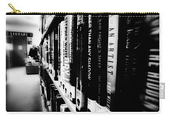 Carry-all Pouch featuring the photograph Mystery At The Library by Lucinda Walter