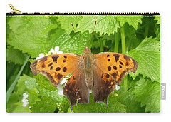 Carry-all Pouch featuring the photograph Mystery Lady by Lingfai Leung