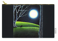 Mystery's Silence And Wonder's Patience Carry-all Pouch