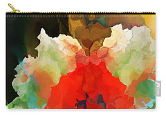 Carry-all Pouch featuring the digital art Mystic Bloom by David Lane