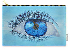 Carry-all Pouch featuring the painting Mystic Eye by Pamela  Meredith