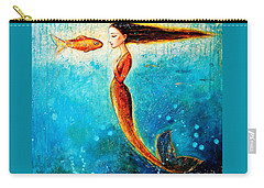 Mystic Mermaid II Carry-all Pouch
