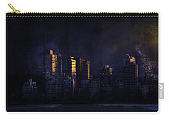 Mystic Orange Glowing Sunrise On Vancouver   Carry-all Pouch