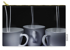 Carry-all Pouch featuring the photograph Mystic Tea Cups - Light Painting by Steven Milner