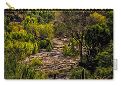 Mystic Wandering Carry-all Pouch by Mark Myhaver