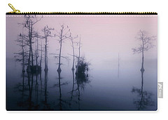 Mystical Morning On The Lake Carry-all Pouch by Myrna Bradshaw