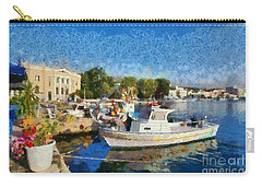 Mytilini Port Carry-all Pouch