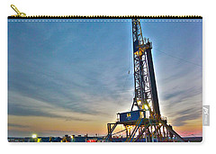 Nabors Rig In West Texas Carry-all Pouch