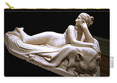 Carry-all Pouch featuring the photograph Canova's Naiad by Cora Wandel