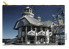 Nanaimo Bistro Carry-all Pouch by Richard Farrington