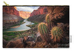 Nankoweap Cactus Carry-all Pouch by Inge Johnsson