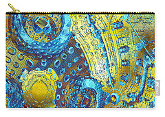 Nanogram Carry-all Pouch by David Jenkins