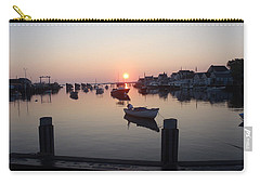 Carry-all Pouch featuring the photograph Nantucket Sunrise 1 by Robert Nickologianis
