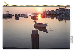 Carry-all Pouch featuring the photograph Nantucket Sunrise 2 by Robert Nickologianis