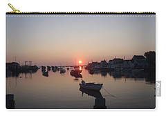 Carry-all Pouch featuring the photograph Nantucket Sunrise by Robert Nickologianis