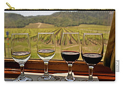Napa Valley Wine Train Delights Carry-all Pouch by Michele Myers