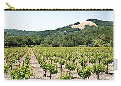 Napa Vineyard With Hills Carry-all Pouch